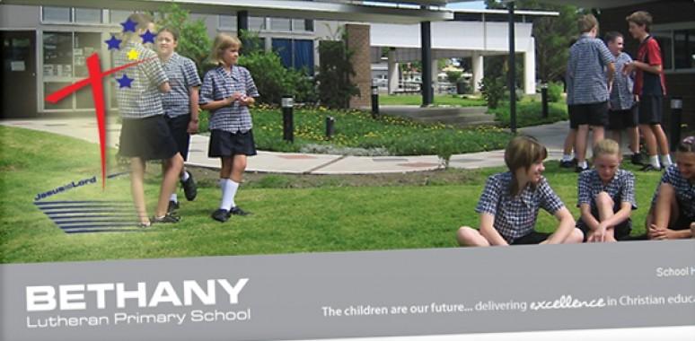 Screenshot of Bethany website