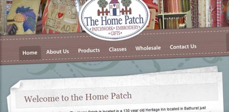 Screenshot of Home Patch website